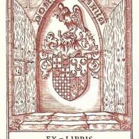 Ex-libris. Carlos Alberto Soares Cabral Peixoto de Villas Boas