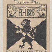 Ex-libris. João d'Ornellas Bruges d'Oliveira