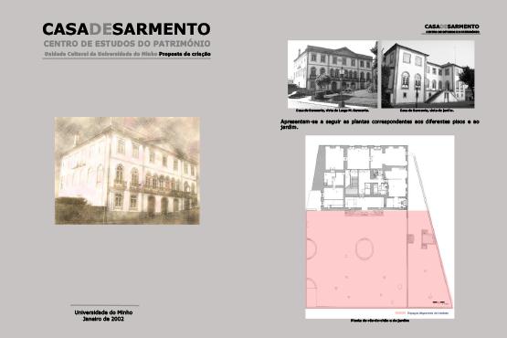 Estatutos da Casa de Sarmento - Centro de Estudos do Património